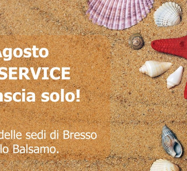 Team Service aperto in agosto