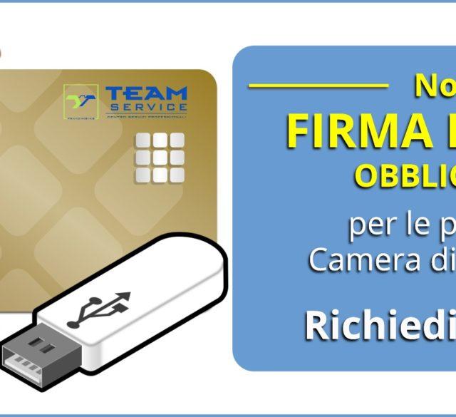 Firma Digitale per la CCIAA a Bresso e Cinisello Balsamo.